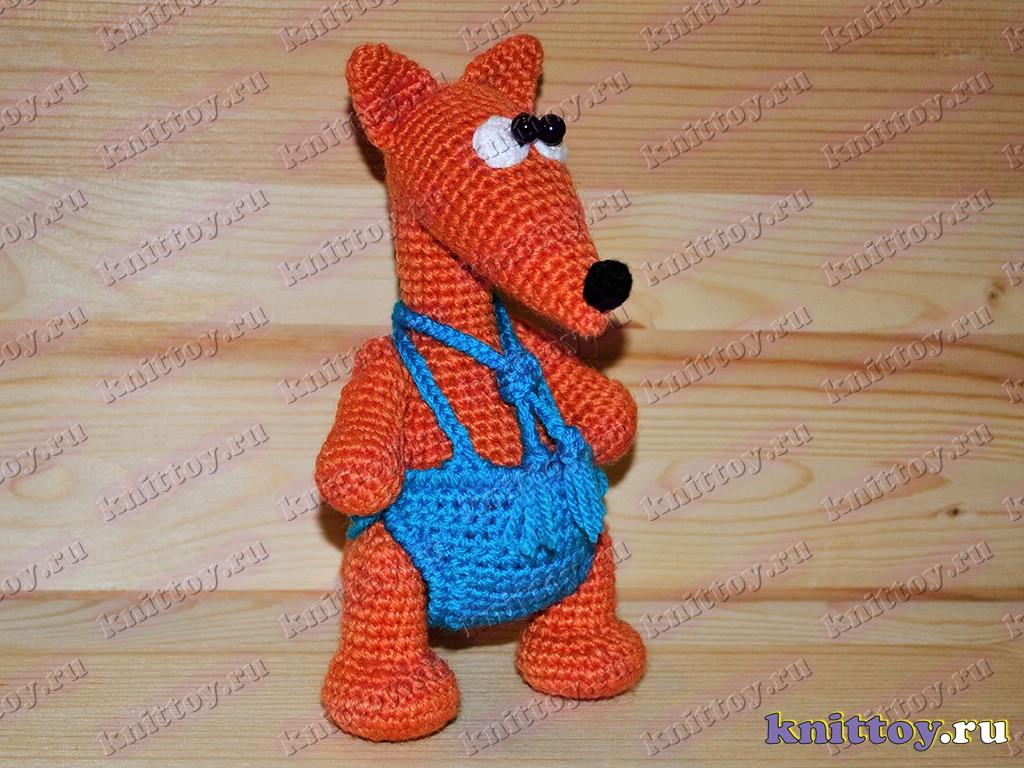 костюм лисички вязание схема